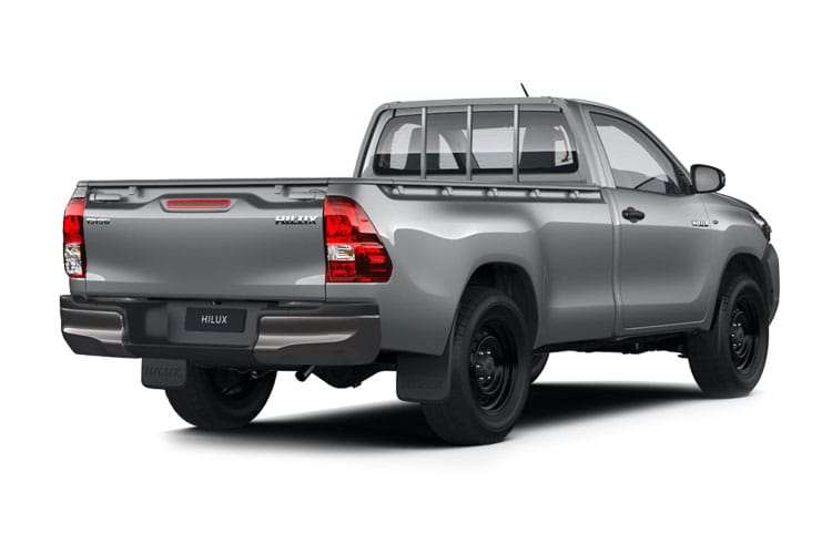 Toyota Hilux PickUp Double Cab 4wd 2.4 D-4D 4WD 150PS Invincible Pickup Double Cab Auto [Start Stop] back view
