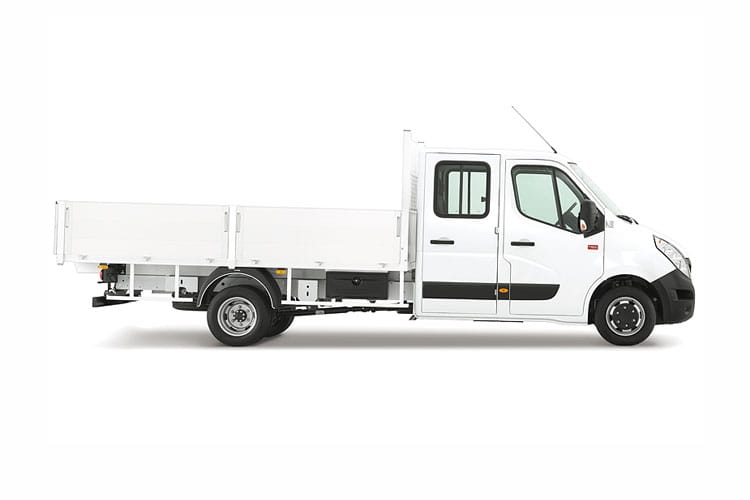 Renault Master MWB 35 FWD 2.3 dCi FWD 135PS Business Tipper Manual back view