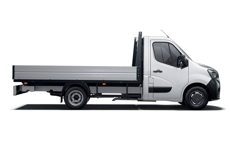 Renault Master MWB 35TW 4X4 2.3 dCi ENERGY DR4 145PS Business Dropside Manual [Start Stop] back view