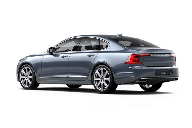 Volvo S90 Saloon 2.0 D4 190PS Momentum Pro 4Dr Auto [Start Stop] back view