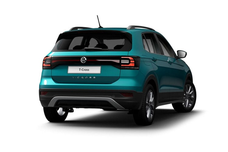 Volkswagen T-Cross SUV 1.6 TDI 95PS SEL 5Dr Manual [Start Stop] back view