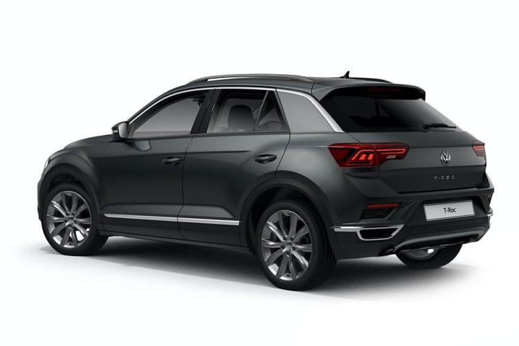 Volkswagen T-Roc SUV 2wd 2.0 TDI EVO 150PS Black Edition 5Dr Manual [Start Stop] back view