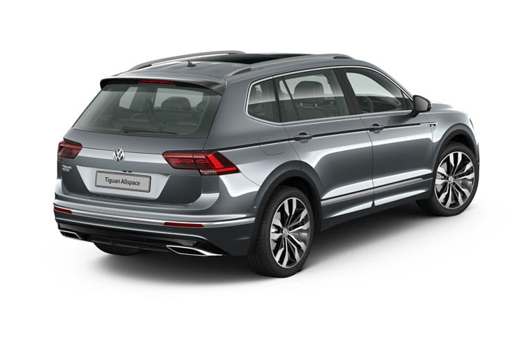 Volkswagen Tiguan Allspace SUV 2.0 TDI 150PS Match 5Dr Manual [Start Stop] back view