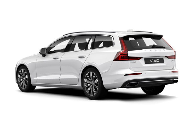 Volvo V60 Estate 2.0 B4 MHEV 197PS Inscription 5Dr Auto [Start Stop] back view
