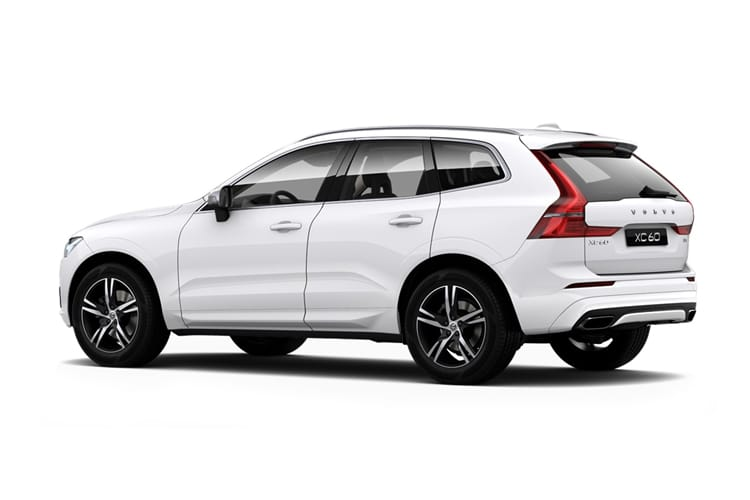 Volvo XC60 SUV AWD 2.0 B5 MHEV 250PS Inscription Pro 5Dr Auto [Start Stop] back view
