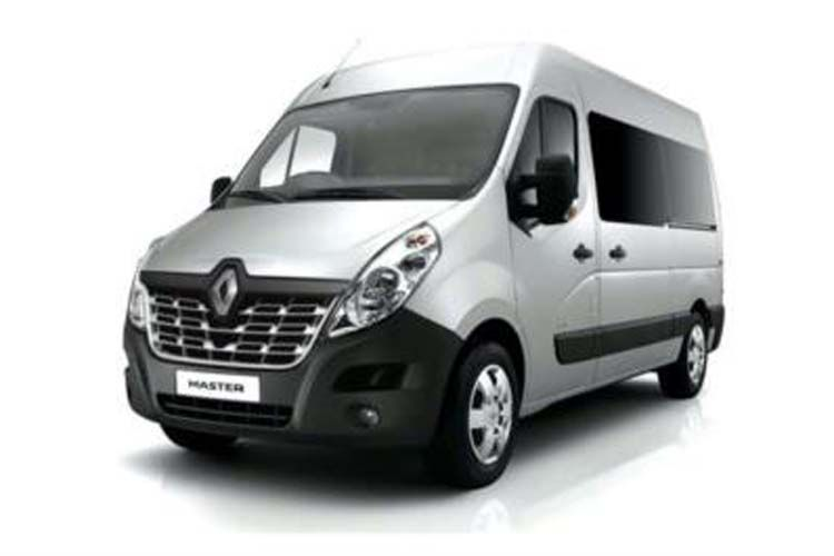 Renault Master LWBL 35 4X4 2.3 dCi ENERGY 4WD 145PS Business Window Van High Roof Manual [Start Stop] front view