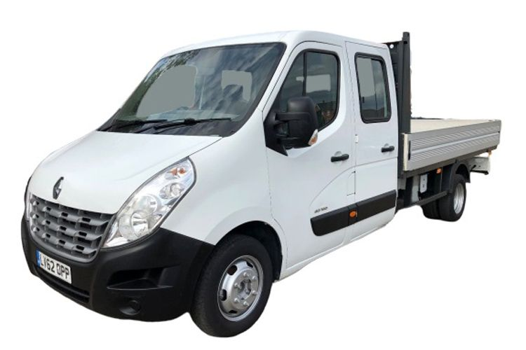 Renault Master LWB 35 FWD 2.3 dCi ENERGY FWD 150PS Business Dropside Double Cab Manual [Start Stop] front view