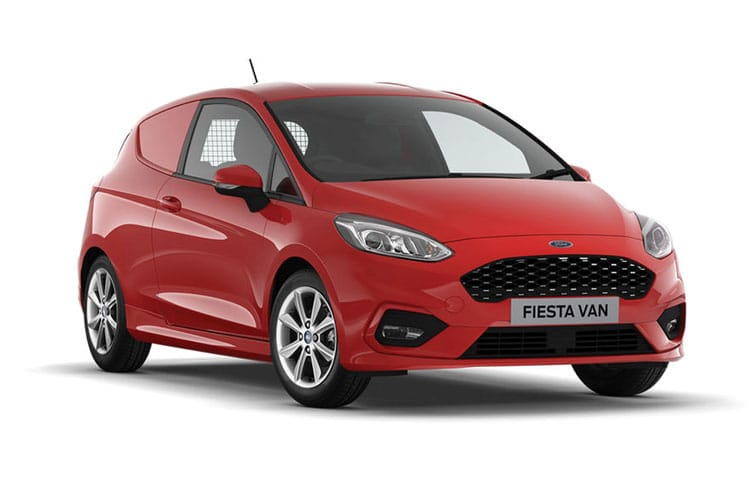 Ford Fiesta Van 1.5 TDCi FWD 85PS Sport Van Manual [Start Stop] front view