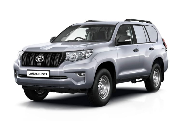 Toyota LandCruiser LCV LWB 4wd 2.8 D 4WD 177PS Active Van Auto [2Seat] front view