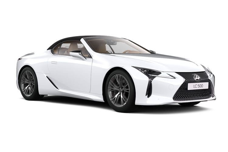 Lexus LC 500 Convertible 5.0 V8 464PS  2Dr Auto front view