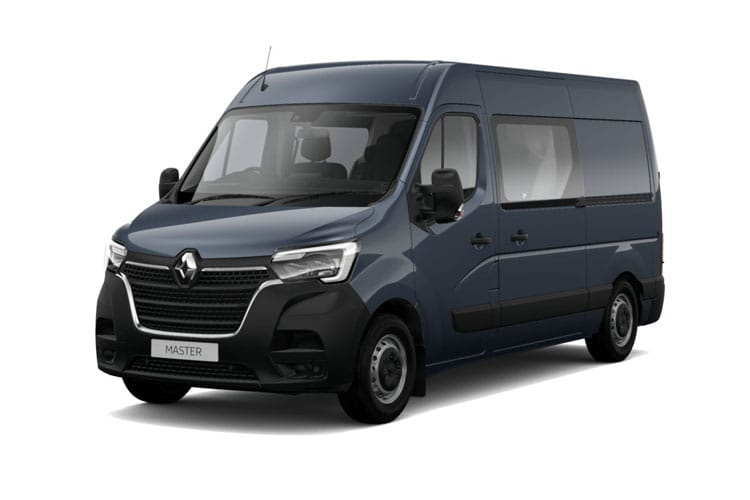Renault Master MWB 35 FWD 2.3 dCi FWD 135PS Business Crew Van Medium Roof Manual front view