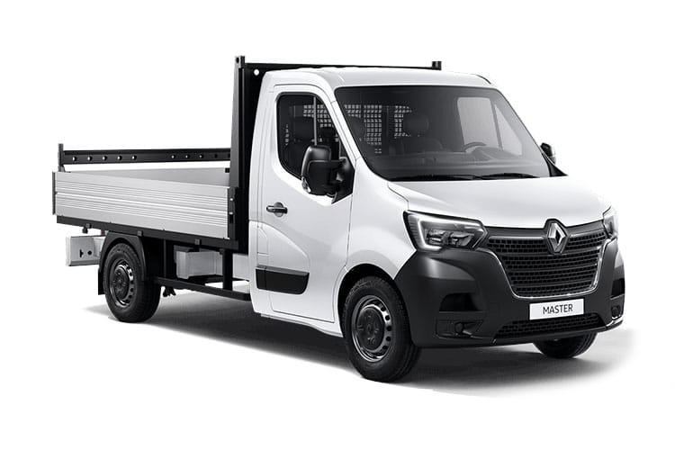 Renault Master MWB 35TW 4X4 2.3 dCi ENERGY DR4 145PS Business Dropside Manual [Start Stop] front view