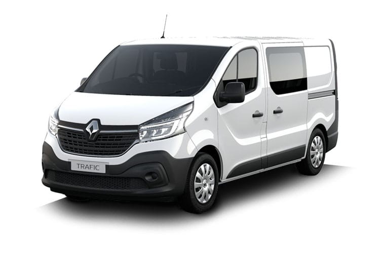 Renault Trafic 30 LWB 2.0 dCi ENERGY FWD 145PS Business+ Crew Van EDC [Start Stop] front view