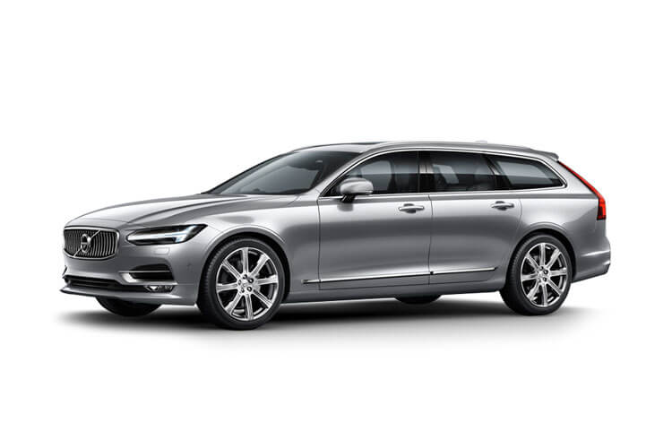 Volvo V90 Estate AWD PiH 2.0 h T6 11.6kWh 340PS Inscription 5Dr Auto [Start Stop] front view