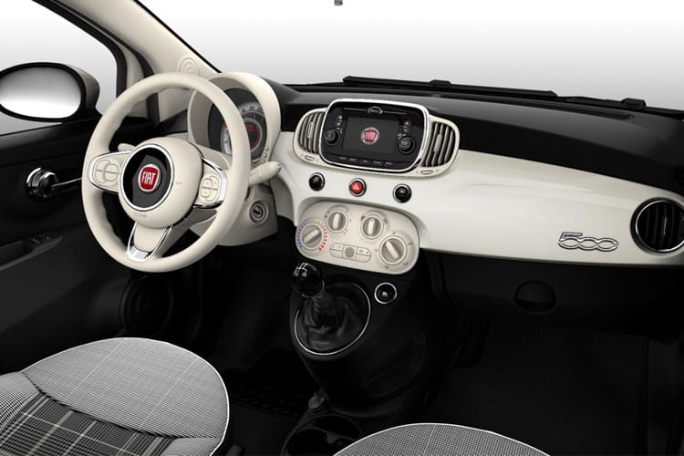 Fiat 500e C Convertible Elec 42kWh 87KW 118PS Passion 2Dr Auto inside view