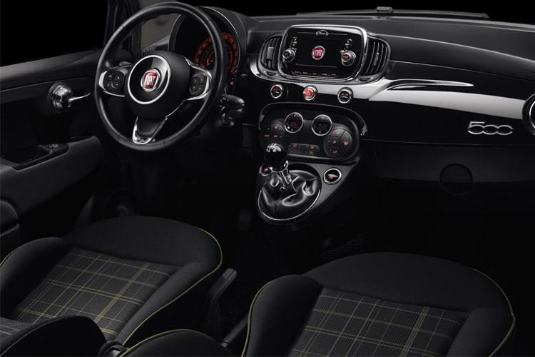 Fiat 500 Hatch 3Dr 1.0 MHEV 70PS Sport 3Dr Manual [Start Stop] inside view
