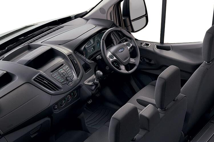 Ford Transit 350HD L4 2.0 EcoBlue FWD 160PS Leader Luton Manual [Start Stop] inside view