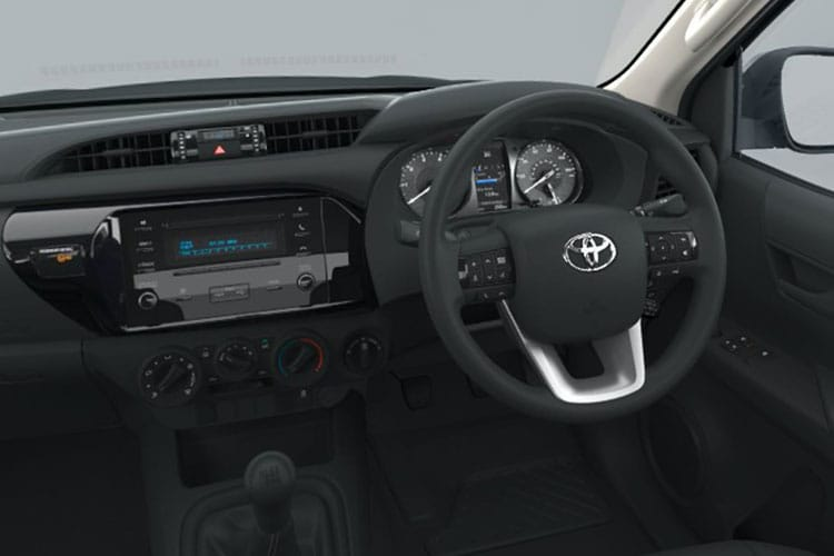Toyota Hilux PickUp Double Cab 4wd 2.4 D-4D 4WD 150PS Invincible Pickup Double Cab Auto [Start Stop] inside view