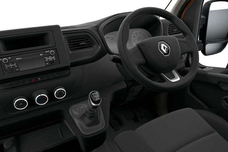 Renault Master MWB 35TW 4X4 2.3 dCi ENERGY DR4 145PS Business Dropside Manual [Start Stop] inside view