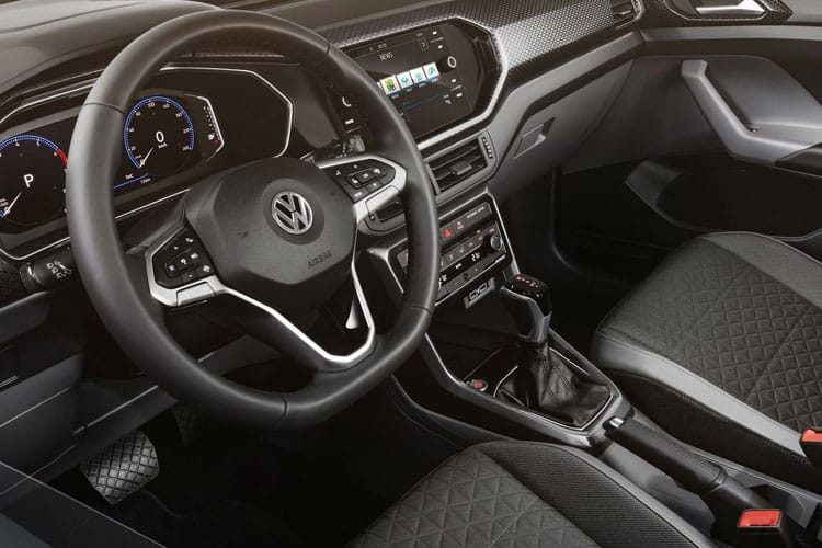 Volkswagen T-Cross SUV 1.6 TDI 95PS SEL 5Dr Manual [Start Stop] inside view