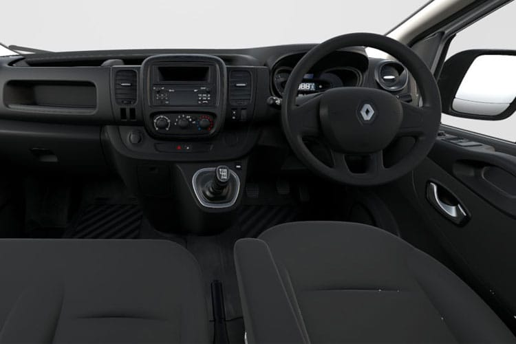 Renault Trafic 30 SWB 2.0 dCi ENERGY FWD 120PS Business Crew Van Manual [Start Stop] inside view