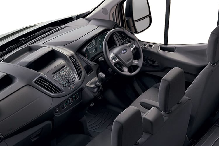 Ford Transit 350 L3 RWD 2.0 EcoBlue RWD 130PS Leader Premium Dropside Double Cab Manual [Start Stop] inside view