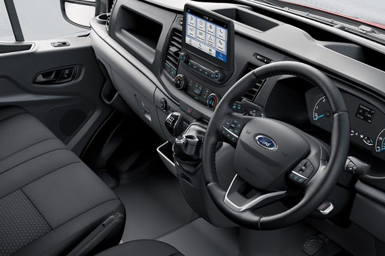 Ford Transit 350 L3 2.0 EcoBlue FWD 170PS Trend Crew Van Medium Roof Auto [Start Stop] [DCiV] inside view