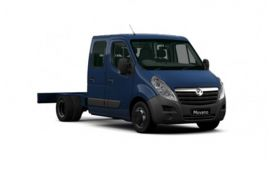 Vauxhall Movano Chassis Cab R35DRW L3 2.3 CDTi BiTurbo DRW 130PS  Chassis Double Cab Manual