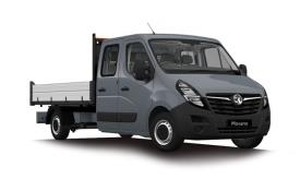 Vauxhall Movano Dropside Double Cab F35 L3 2.3 CDTi BiTurbo FWD 135PS  Dropside Double Cab Manual