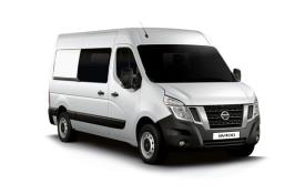 Nissan NV400 Crew Van L2 35 FWD 2.3 dCi FWD 150PS Tekna Crew Van Medium Roof Manual [Start Stop]