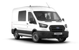 Ford Transit Crew Van 350 L3 2.0 EcoBlue FWD 130PS Limited Crew Van High Roof Auto [Start Stop] [DCiV]